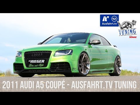 Ausfahrt.TV Tuning - Folge 08: 2011 Audi A5 Coupé Tuning inkl. Car Porn & Sound Check