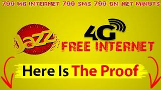 Jazz Free 500MB Internet 2018 New Method