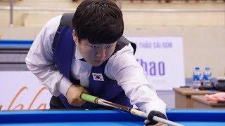 CHO Myung Woo vs Kang Dong Koong, Asian Carom 3C Championship 2019