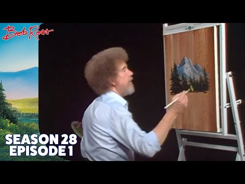 Bob Ross - Fisherman's Trail (Season 28 Episode 1)