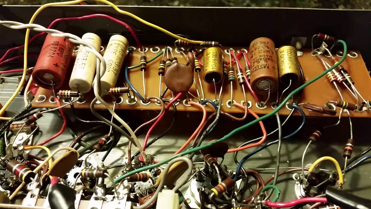Hammond B Organ Wiring Diagram on