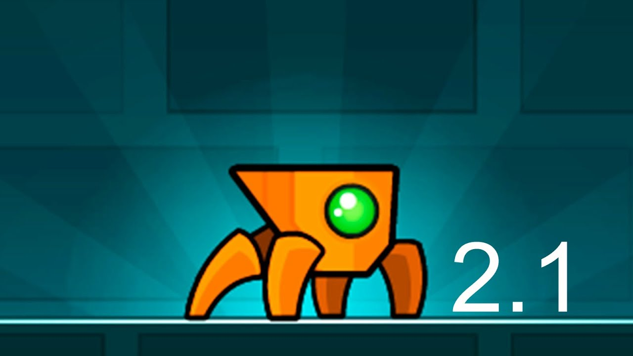 2,1: Top 5 FanMades 2.1 [Geometry Dash]