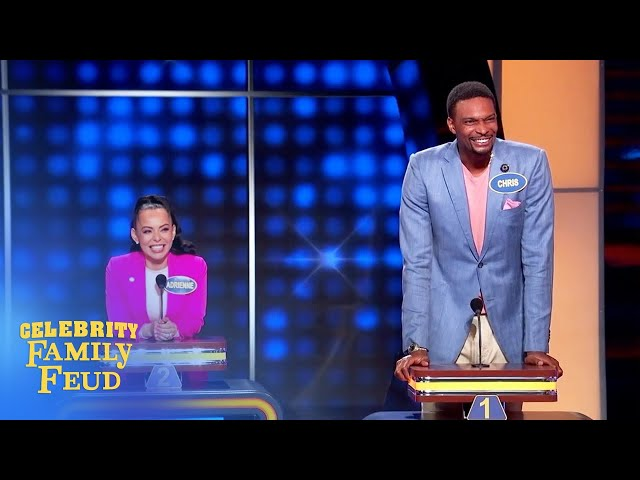 Here's why Chris Bosh has no lamps in his house! | Celebrity Family Feud