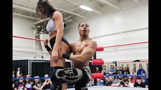 Kris Statlander vs. Christian Casanova - Limitless Wrestling (Intergender, Mixed)