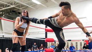 Download Kris Statlander vs. Christian Casanova - Limitless Wrestling (Intergender, Mixed, AEW Dynamite) Mp3 and Videos