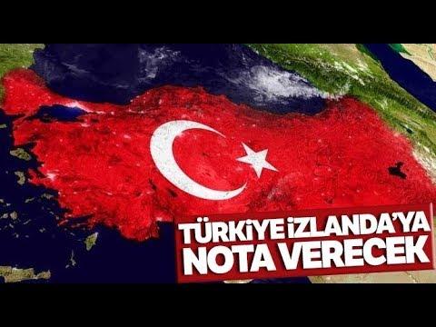 Türkiye'den İzlanda'ya Sert Tepki