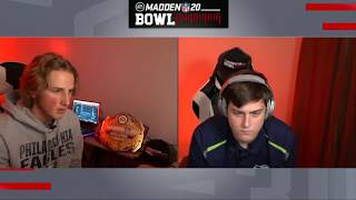 NOAH vs. DCROFT | Madden Bowl 20 Quarterfinal Game 2