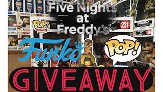 FNAF FUNKO POP! GIVEAWAY Exclusive Five Nights At Freddys Sister Location FNAF Pop!It Master