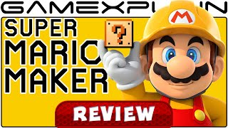 Super Mario Maker - Video Review (Wii U)(Is Super Mario Maker as fun as the Mario games its based on? Find out in our video review where we discuss how well the level creator works, online ..., 2015-09-02T14:00:01.000Z)