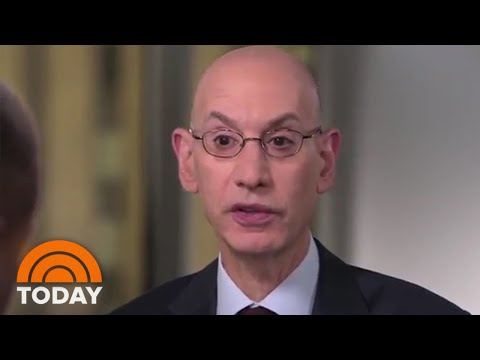 NBA Commissioner Adam Silver Talks NBA Draft, Zion Williamson, & Mental Health In The NBA | TODAY