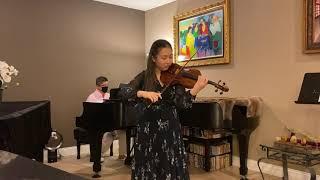 Bach: Solo Violin Sonata No. 2 in A minor- I. Grave