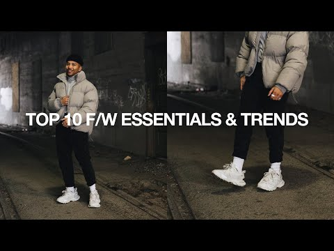 TOP 10 Fall / Winter Essentials & Trends + Affordable Options