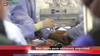 Le cortaron el miembro por error médico