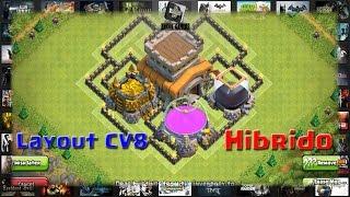 Layout CV8 - Hibrido 001