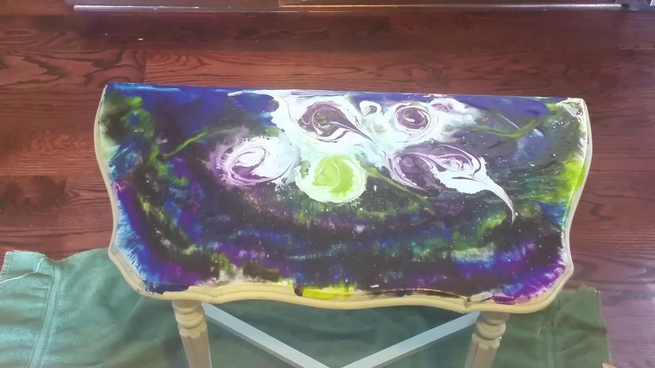 Unicorn Spit Gel Stain Amp Glaze In One Nebula Youtube