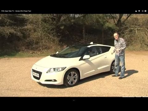 Fifth Gear Web TV – Honda CR-Z Road Test