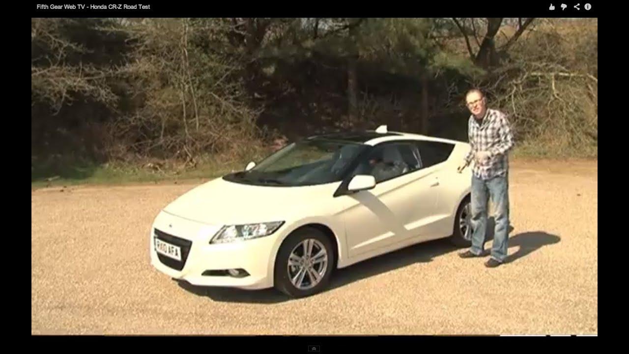 Fifth Gear Web Tv Honda Cr Z Road Test