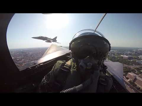 HUNAF Gripen Ceremonial Fly-by