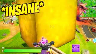 The GOLDEN CUBE moved DIAGONALLY & LEAKED MAP!!! (Fortnite GOLDEN CUBE Event)