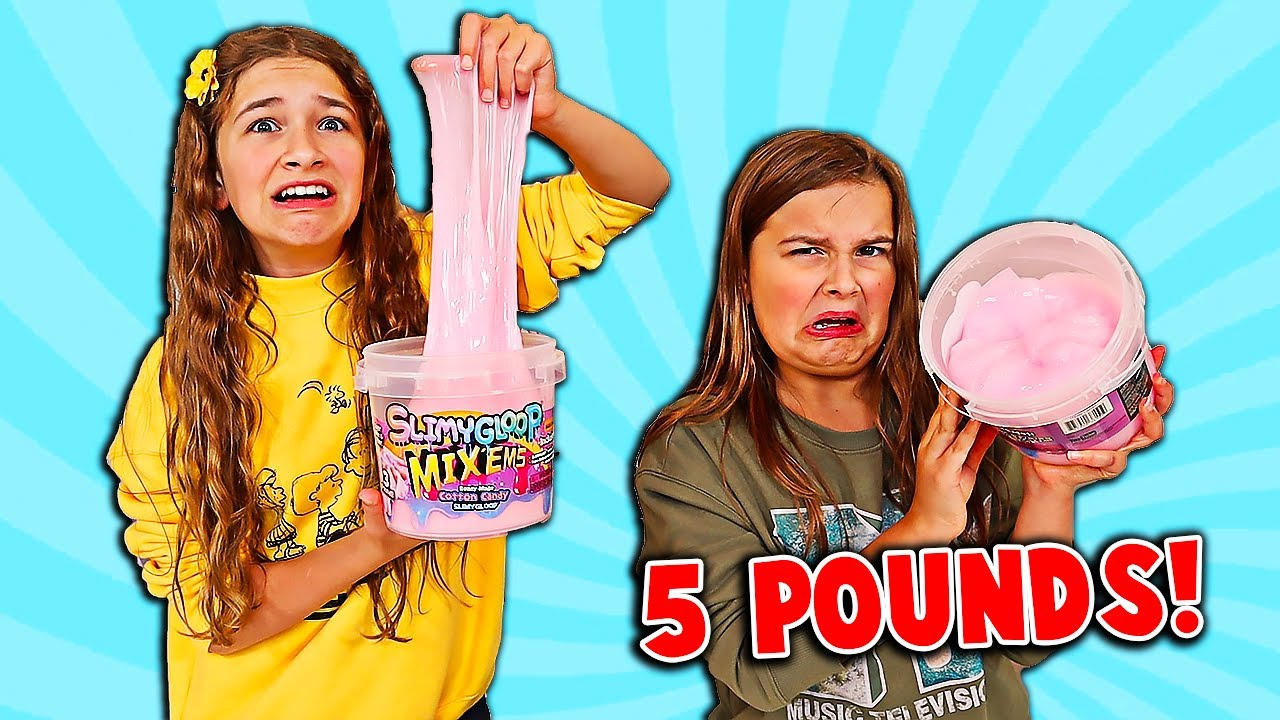 Download FIX THIS 5 POUND BUCKET OF STORE BOUGHT SLIME CHALLENGE!! | JKrew