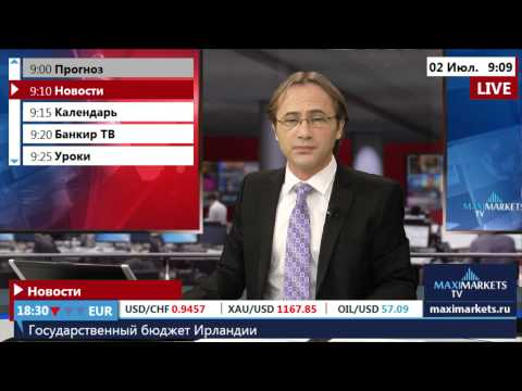 02.07.15  (9:00 MSK) - Новости рынка Форекс. MaxiMarkets форекс ТВ.