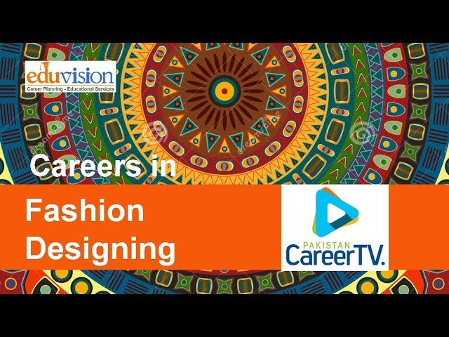Career In Fashion Design Youtube