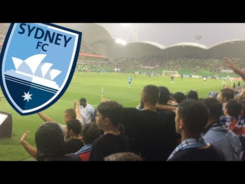 THE COVE AWAY | MELBOURNE VICTORY 1-3 SYDNEY FC | SONGS, CHANTS AND GOALS