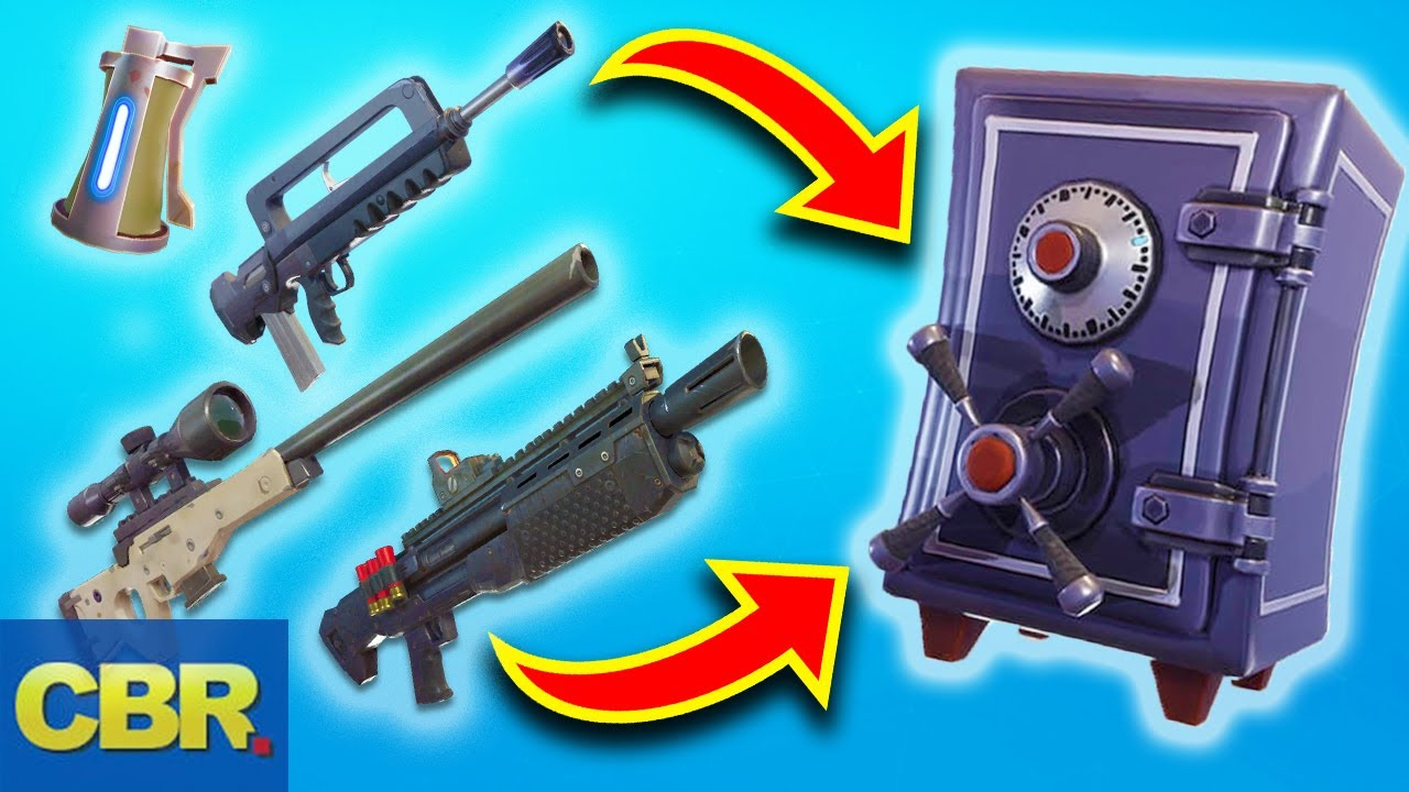 this is why fortnite vaulted those weapons for season 8 - is the gold bolt vaulted fortnite