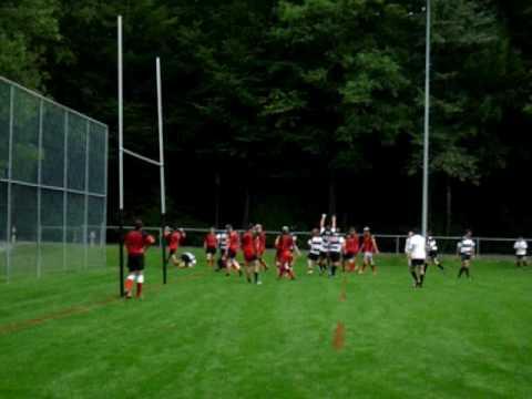 Lynx Rugby Club Try against Bern II