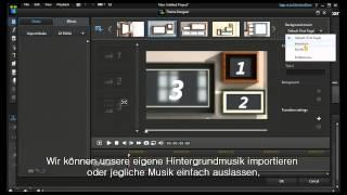 PowerDirector 12 - Themen-Designer