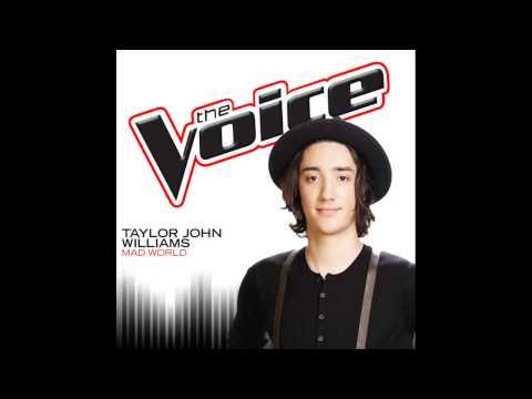 Taylor John Williams   Mad World   Studio Version   The Voice 7