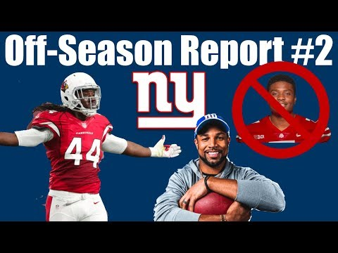 NY Giants Offseason Report #2 (Golden Signings/Updated Depth Chart/No More Haskins?)