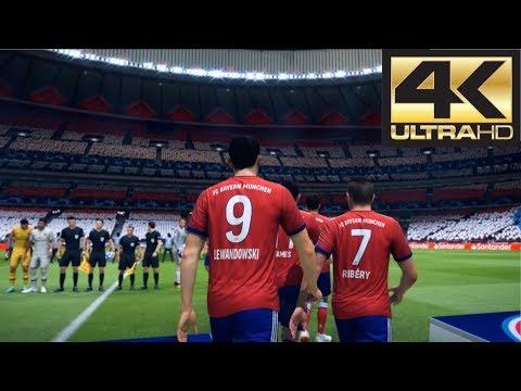 FIFA 19 4K 60 FPS Amazing Graphics Bayern vs PSG