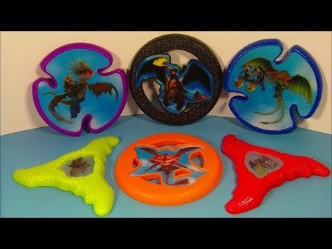 2014 How To Train Your Dragon 2 Set Of 6 Mcdonald S Happy Meal Movie Toy S Video Review Youtube