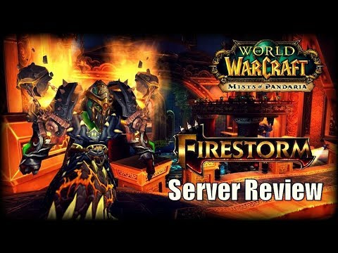WoW Private Server Review - Firestorm Mists of Pandaria