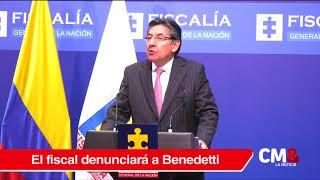 Fiscal Martínez denunciaría al senador Armando Benedetti