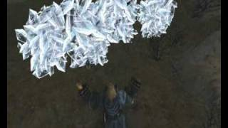 Gothic - pc game - how mage fight