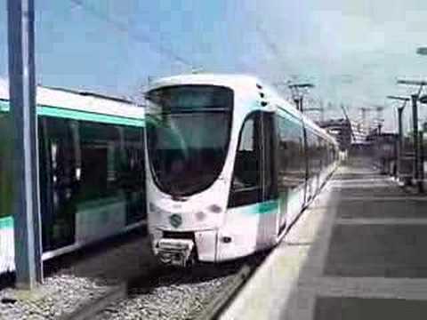 Tramway de paris ligne t2 entre porte de versailles - Trajet metro gare de lyon porte de versailles ...