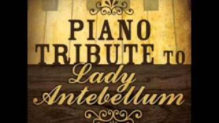 Can't Take My Eyes Off You - - Lady Antebellum Piano Tribute
