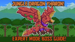 How to Beat Yharon in Terraria! -Expert Mode Calamity Mod Boss Guide!
