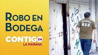 Roban la bodega presidencial en Santiago Centro - Contigo en la Mañana