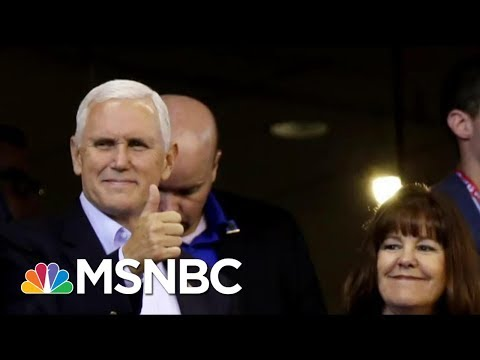 'So Much Worse Than Bridgegate': Vice President Mike Pence's Walk-Out | Morning Joe | MSNBC