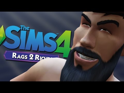 STEALING FROM THE NEIGHBORS - The Sims 4: Rags to Riches #2
