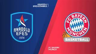 #EuroLeague 16. Hafta: Anadolu Efes - Bayern München