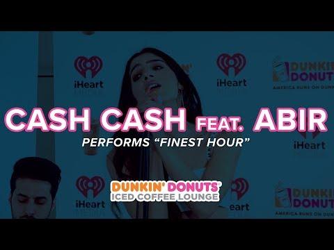 Cash Cash feat. Abir Perform 'Finest Hour' Live | DDICL