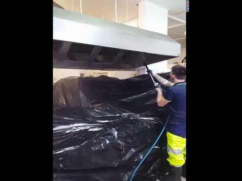 Nettoyage De Hottes De Cuisine Industrielle  Youtube