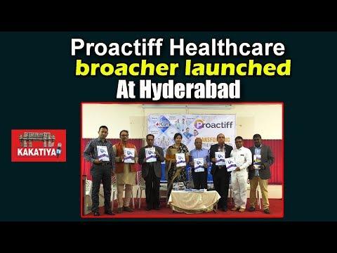Proactiff Healthcare Broacher Launched in Hyderabad at Somajiguda Press Club  || KAKATIYA TV ll
