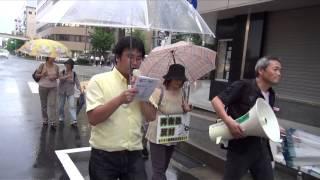 7.5脱原発デモ『東電・再稼働許すなデモin新潟』