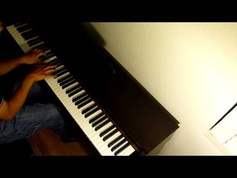"""Halo Reach theme: """"Epilogue / Ghosts & Glass / The Package"""" on piano"""