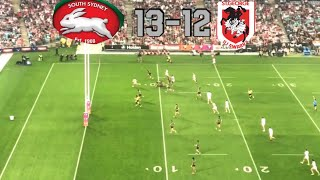 NRL SEMI FINAL HIGHLIGHTS RABBITOHS VS DRAGONS